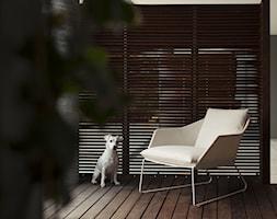 new york outdoor - Mały taras z przodu domu z tyłu domu - zdjęcie od Saba Italia