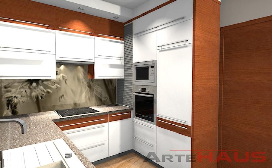 Meble Kuchenne - Projekt - zdjęcie od Projektowanie Wnętrz ArteHAUS
