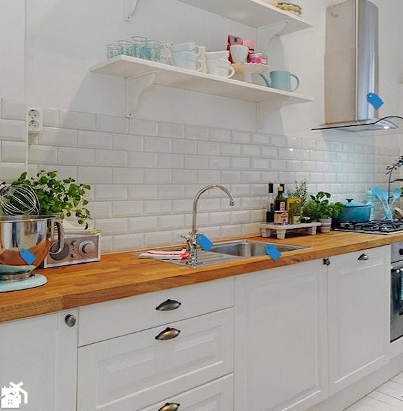 Kafelki i cegły w kuchni  Homebook pl -> Kuchnia I Kafelki