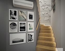 Nowoczesny dom z betonem - Schody, styl nowoczesny - zdjęcie od FRS ARCHITEKCI - Homebook