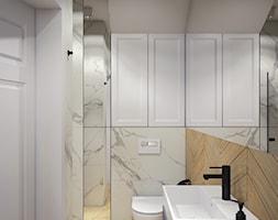 Dom w Tomaszowicach - Łazienka, styl nowojorski - zdjęcie od FRS ARCHITEKCI - Homebook