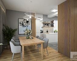 Nowoczesny dom z betonem - Jadalnia, styl nowoczesny - zdjęcie od FRS ARCHITEKCI - Homebook