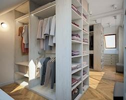 Dom w Tomaszowicach - Garderoba, styl nowoczesny - zdjęcie od FRS ARCHITEKCI - Homebook