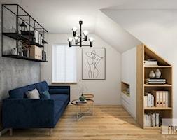 Nowoczesny dom z betonem - Biuro, styl nowoczesny - zdjęcie od FRS ARCHITEKCI - Homebook