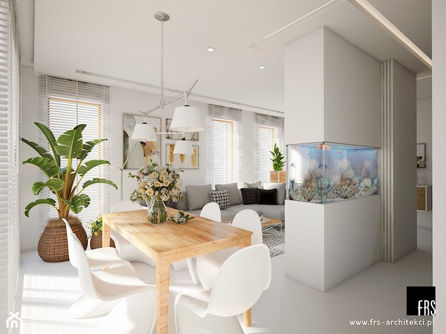 Dom Słoneczne Kliny - Jadalnia, styl skandynawski - zdjęcie od FRS ARCHITEKCI