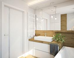 Nowoczesny dom z betonem - Łazienka, styl skandynawski - zdjęcie od FRS ARCHITEKCI - Homebook