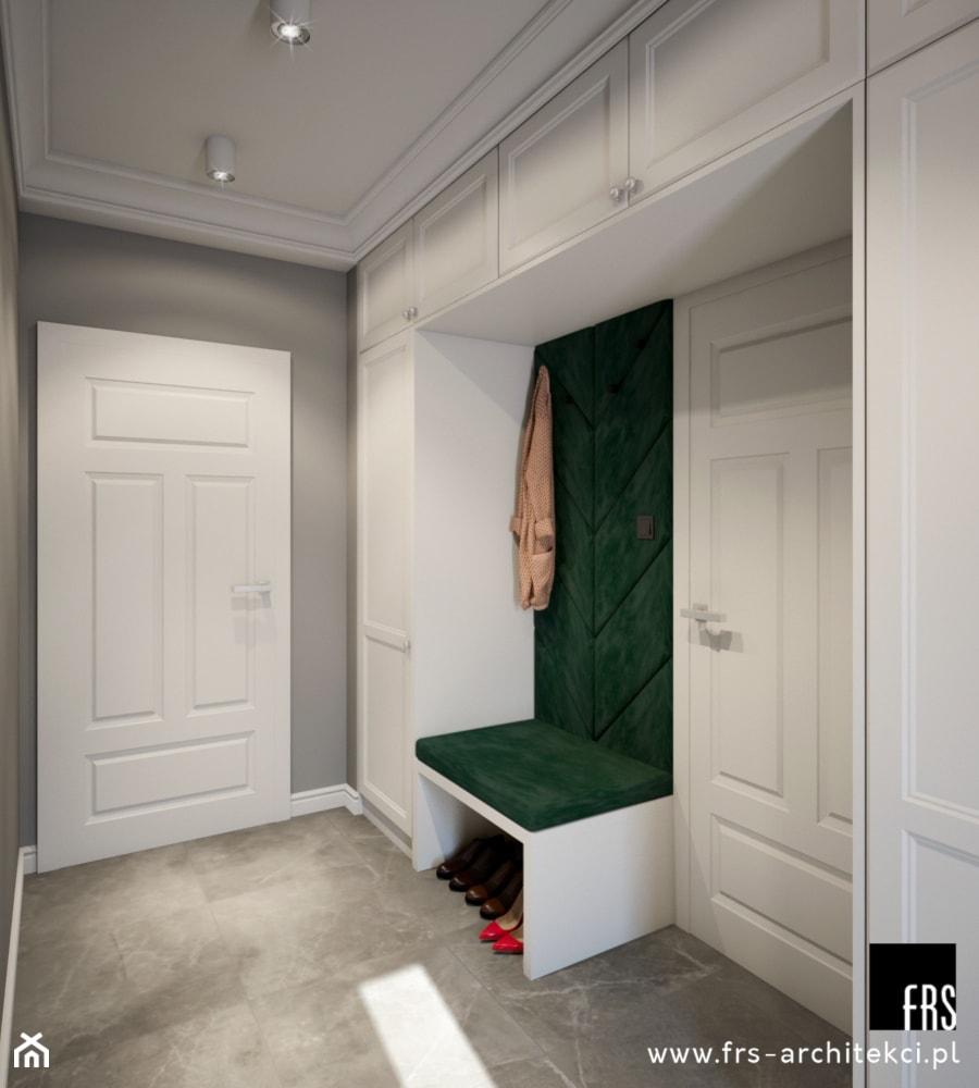 Dom w Tomaszowicach - Hol / przedpokój, styl nowojorski - zdjęcie od FRS ARCHITEKCI