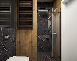 Nowoczesny dom z betonem - Łazienka, styl nowoczesny - zdjęcie od FRS ARCHITEKCI - Homebook