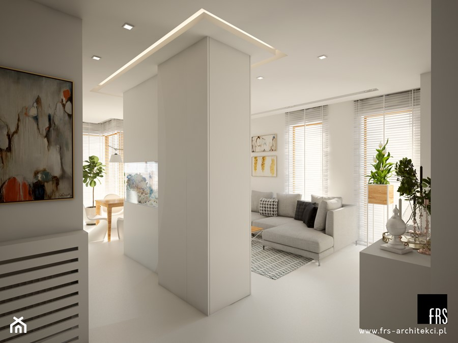 Dom Słoneczne Kliny - Hol / przedpokój, styl skandynawski - zdjęcie od FRS ARCHITEKCI