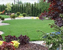Brzozowy zakątek - Duży ogród za domem japoński - zdjęcie od Angelika Murek