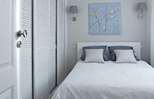Sypialnia styl Nowojorski - zdjęcie od wz studio
