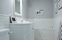 Łazienka styl Nowojorski - zdjęcie od wz studio