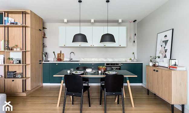 farba w kuchni na ścianie
