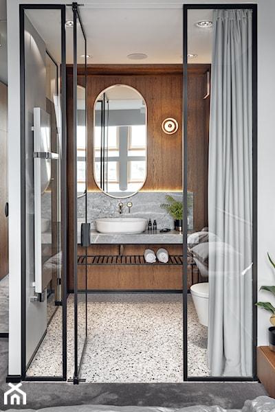 podłoga terrazzo w łazience