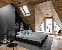 Sypialnia na poddaszu - aranżacje, pomysły, inspiracje