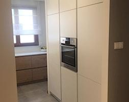 Kuchnia fornir dębowy Wilanów - Kuchnia, styl nowoczesny - zdjęcie od LAVIANO Kuchnie i Wnętrza - Homebook