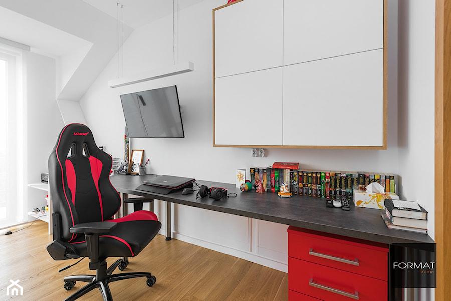 Pokój dla nastolatka - Pokój dziecka, styl nowoczesny - zdjęcie od Studio FORMAT HOME