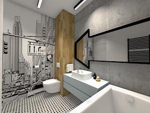 Projekt łazienek w nowoczesnym stylu