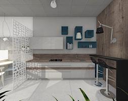 Projekt studia kuchni - Wnętrza publiczne - zdjęcie od Studio FORMAT HOME