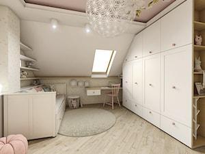 Pokój dziewczynki - Średni biały beżowy pokój dziecka dla chłopca dla dziewczynki dla malucha, styl klasyczny - zdjęcie od METEOR