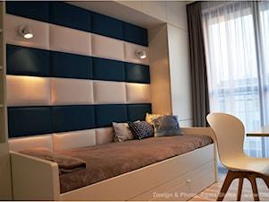pokój dziecięcy z dodatkowym łóżkiem - zdjęcie od OMII. Agata Słoma