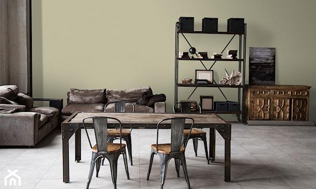 Salon, styl industrialny