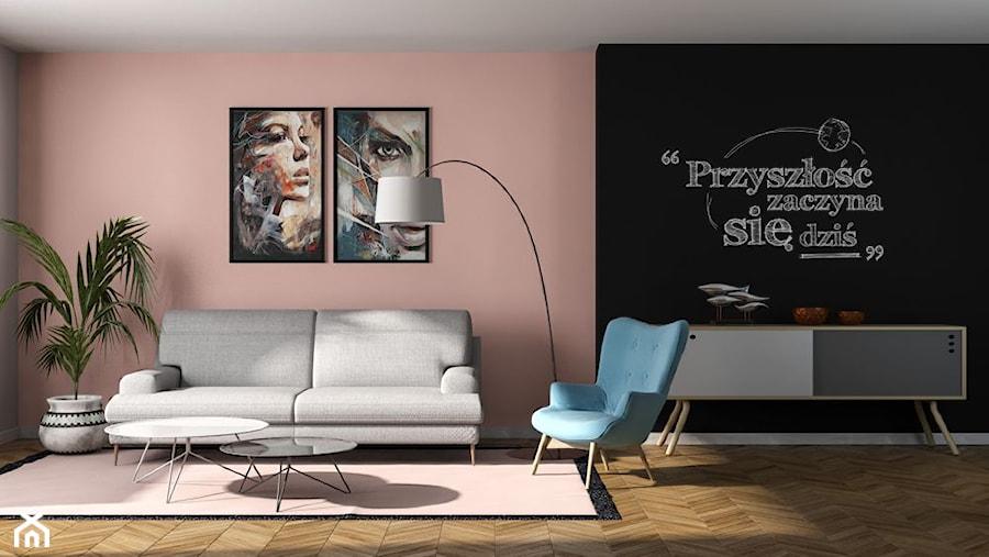 Aranżacje wnętrz - Salon: Aranżacje - Salon, styl skandynawski - Magnat Magia Szlachetnych Barw. Przeglądaj, dodawaj i zapisuj najlepsze zdjęcia, pomysły i inspiracje designerskie. W bazie mamy już prawie milion fotografii!