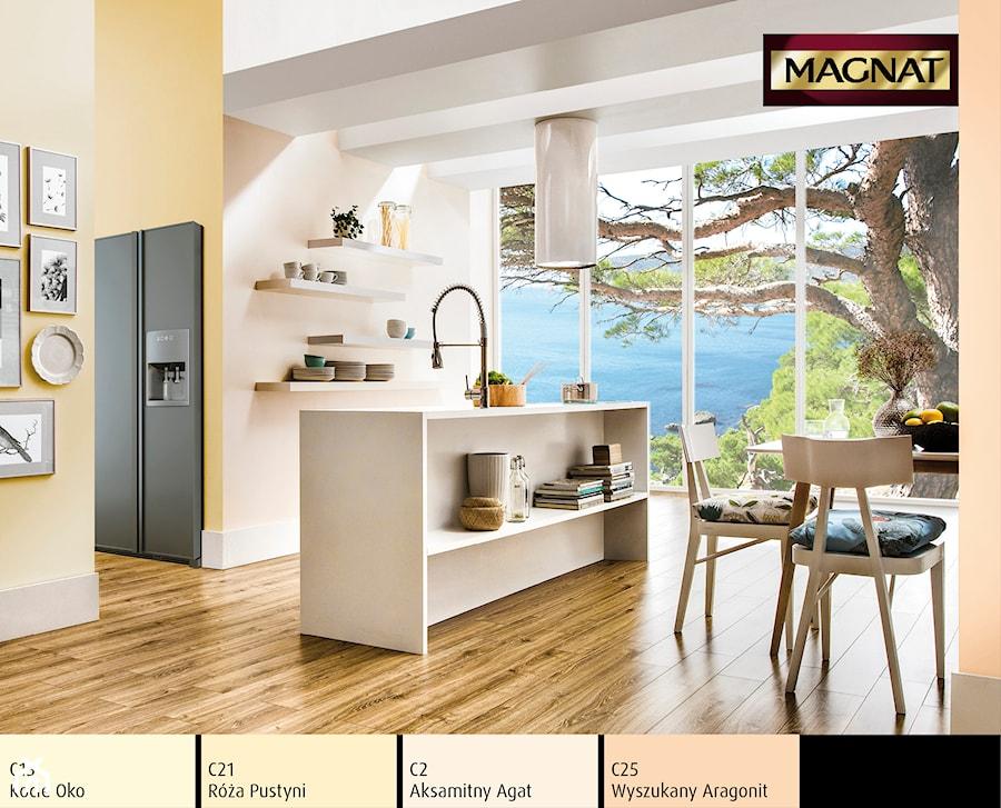 Aranżacje wnętrz - Kuchnia: Aranżacje - Kuchnia - Magnat Magia Szlachetnych Barw. Przeglądaj, dodawaj i zapisuj najlepsze zdjęcia, pomysły i inspiracje designerskie. W bazie mamy już prawie milion fotografii!