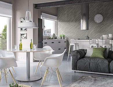 Salon styl Skandynawski - zdjęcie od Magnat Magia Szlachetnych Barw