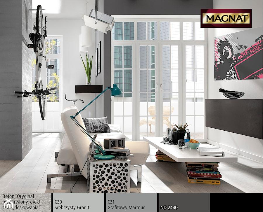 Aranżacje wnętrz - Salon: Aranżacje - Salon - Magnat Magia Szlachetnych Barw. Przeglądaj, dodawaj i zapisuj najlepsze zdjęcia, pomysły i inspiracje designerskie. W bazie mamy już prawie milion fotografii!