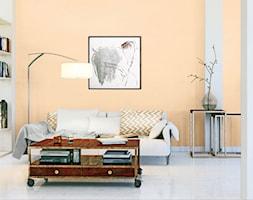 Aranżacje - Mały pomarańczowy salon, styl tradycyjny - zdjęcie od Magnat Magia Szlachetnych Barw