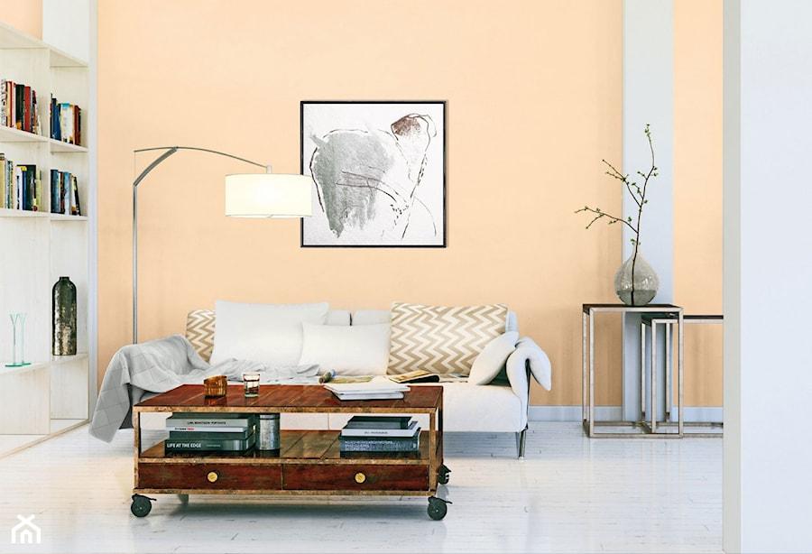 Aranżacje wnętrz - Salon: Aranżacje - Mały pomarańczowy salon, styl tradycyjny - Magnat Magia Szlachetnych Barw. Przeglądaj, dodawaj i zapisuj najlepsze zdjęcia, pomysły i inspiracje designerskie. W bazie mamy już prawie milion fotografii!