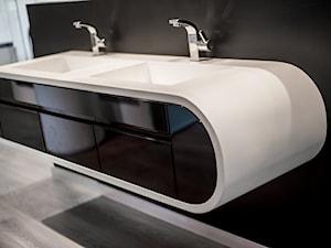 Szafka łazienkowa z umywalkami GOOGLE