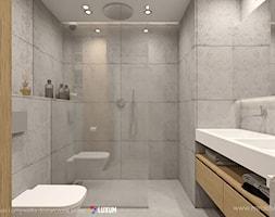 Nowoczesna+%C5%82azienka+-+minimalistyczna+aran%C5%BCacja+z+betonem+architektonicznym+i+umywalk%C4%85+podw%C3%B3jn%C4%85+na+miar%C4%99+-+zdj%C4%99cie+od+Luxum