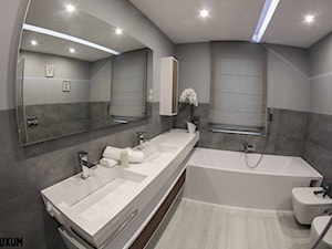 Nowoczesna łazienka z wyposażeniem na wymiar