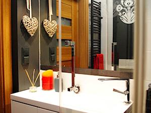 Nowoczesne wyposażenie w łazience w stylu etno