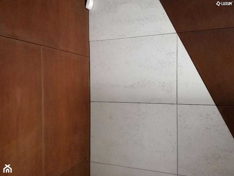 Aranżacje wnętrz - Biuro: Panele Corten Luxum - Luxum. Przeglądaj, dodawaj i zapisuj najlepsze zdjęcia, pomysły i inspiracje designerskie. W bazie mamy już prawie milion fotografii!