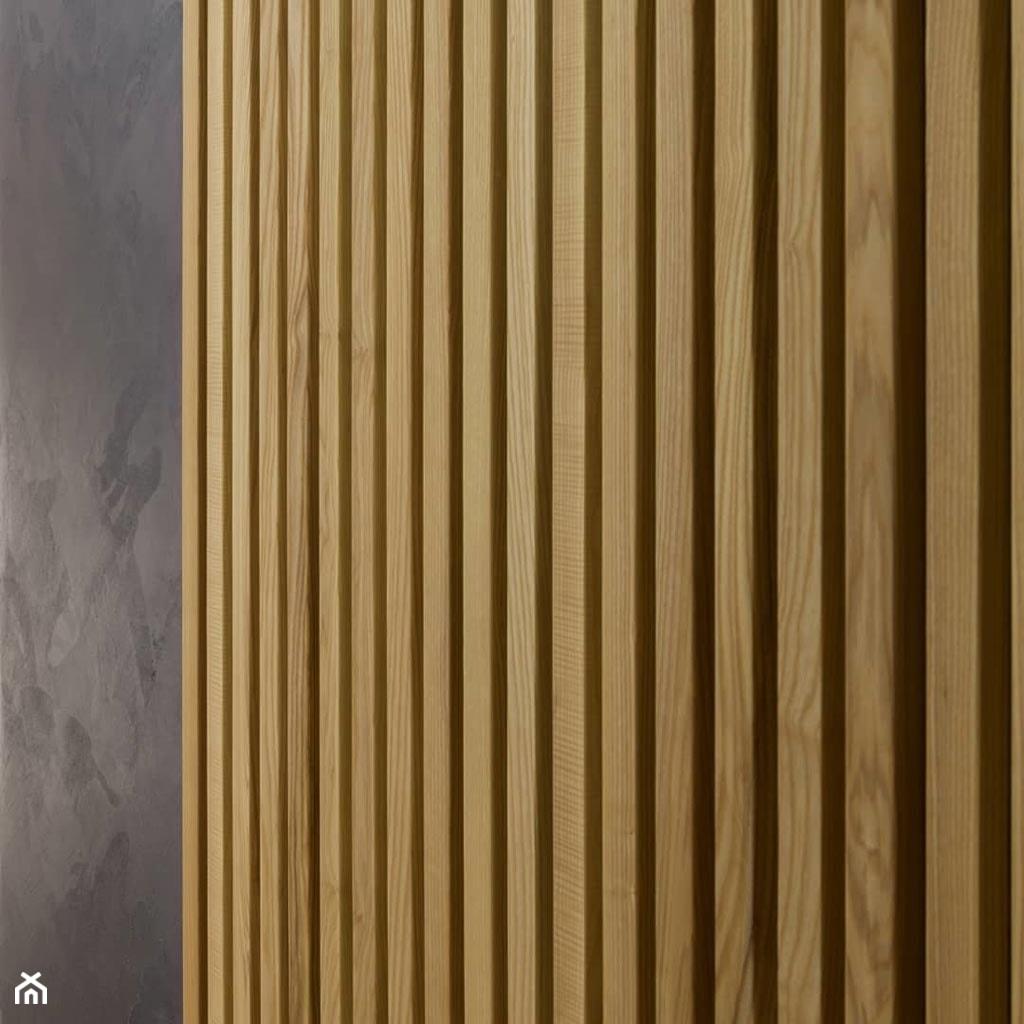 drewniana okładzina ścienna - zdjęcie od Luxum - Homebook