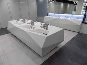 Łazienki w centrum handlowym Złote Tarasy w Warszawie