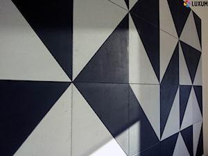 Mozaika z płyt z betonu architektonicznego