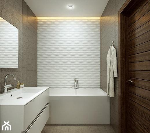 Panele dekoracyjne mdf 3d azienka styl nowoczesny zdj cie od luxum - Fenetre salle de bain opaque ...