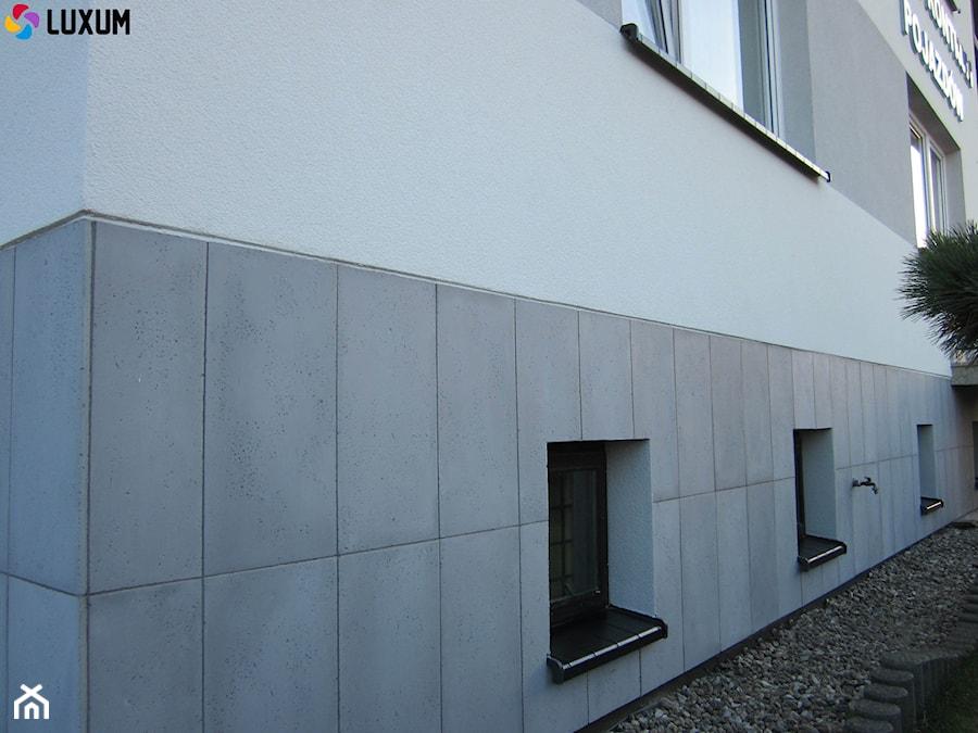 Topnotch Elewacja z płyt z betonu architektonicznego - zdjęcie od Luxum ZL35