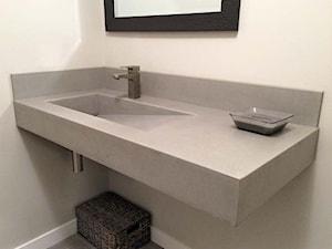 Umywalki z betonu architektonicznego