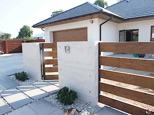 Ogrodzenie z betonu architektonicznego