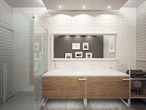 Minimalistyczna łazienka od Luxum