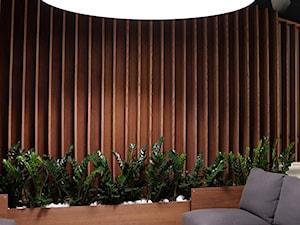 Panele Hausder: pionowe panele ścienne i sufitowe wykonane z drewna