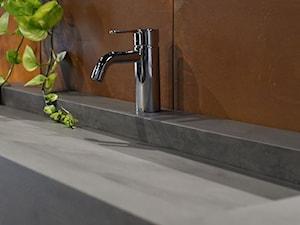 Umywalki z lekkiego betonu architektonicznego