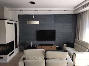 Pomysł na nowoczesną ścianę w salonie