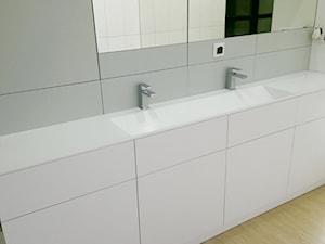 Nowoczesna łazienka z manufaktury LUXUM