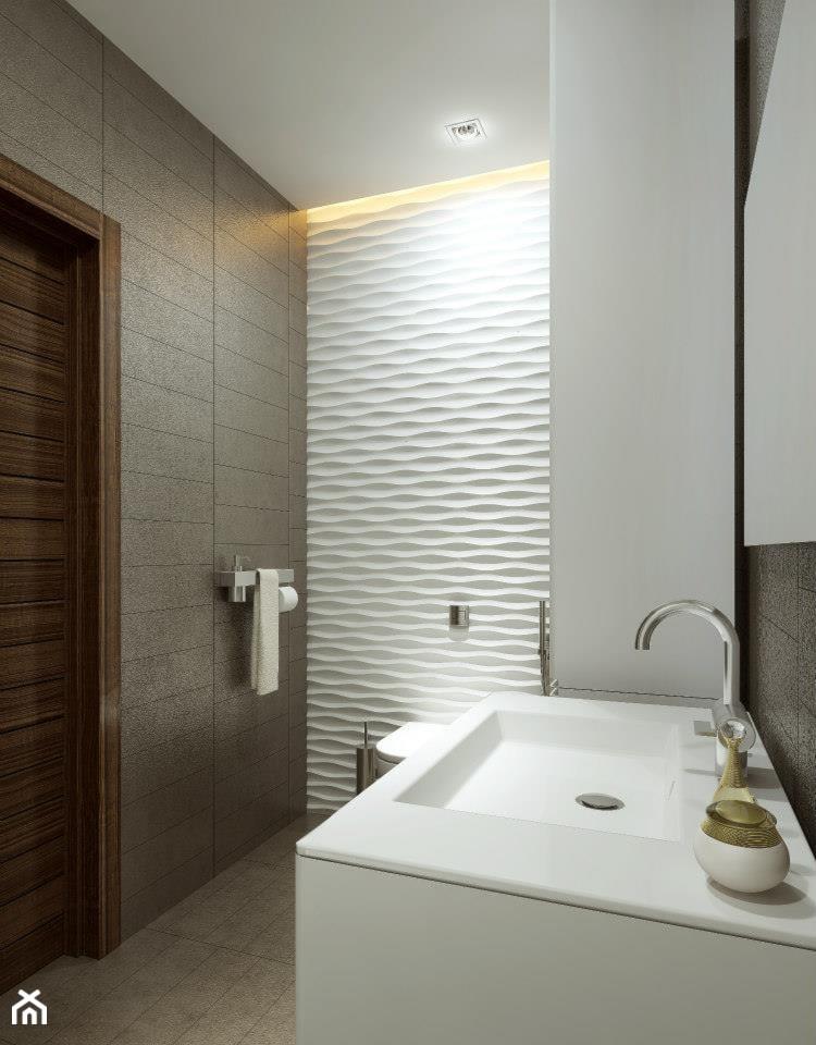 Panele Dekoracyjne Mdf 3d łazienka Styl Nowoczesny